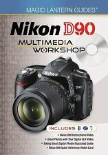 Nikon D90 Multimedia Workshop by Lark Books Staff (2009, Hardcover / Mixed...