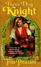 BUY 2 GET 1 FREE Three Dog Knight by Tori Phillips (1998, Paperback)
