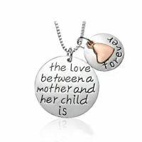 Liebe Zwischen Mutter Und Kind Ist Für Immer Eingraviert Halskette