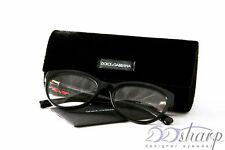 Dolce Gabbana Eyeglasses-DG 3224 501 Black w/ R Rose
