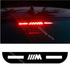 M Car Tail Stop Light Acrylic Brake lamp Cover sticker for BMW 3 E46 E90 E92 F30