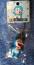 Plant Hat Doraemon Keyring Resin Figure | Mechanical Cat Kawaii Japan Animation