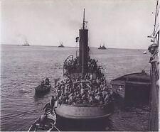 Bateau militaire WW1 Naples Napoli Italie Italia Vintage argentique
