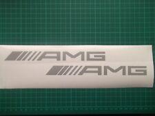 Mercedes AMG logo / badge car vinyl decal sticker ....x2