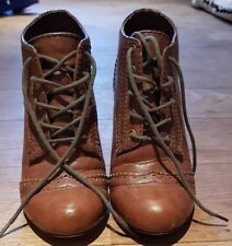 River Island Ankle Wedge Boot Size 4