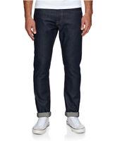 $55 Quiksilver Men's Modern Wave Rinse Straight Fit Jeans Indigo Size 32X32