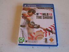 MLB 12: The Show (Sony PS Vita). Asian English Version. Brand New. Mint.