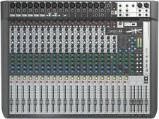 Soundcraft Signature 22 MTK 22-Input Multi-Track Mixer with Effects New