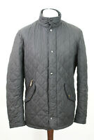 BARBOUR Black Quilted Jacket M