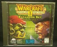WarCraft II: Beyond the Dark Portal (PC, 1995)  - Mint Disc 1 Owner !