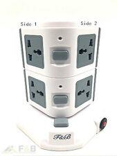 Verticale 7 modo +2 USB 4.5 un sovraccarico protetto PROLUNGA Socket 7gang - 3M