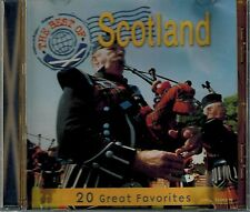 THE BEST OF SCOTLAND -20 GREAT FAVORITES- WEE McGREGOR/ST. PATRICKS DAY- MINT CD