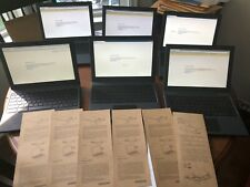 New listing (6) Chromebook 2 Mario Fish 2330 Intell 1.66Ghz 2Gb Ram 16Gb Ssd Chrome Laptop