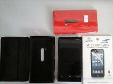 Nokia Lumia 920 - 32GB - Black (Unlocked) Smartphone (+Screen Guard +Red cover)