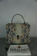 Authentic Brahmin Ingrid Haven Roxanne Leather Satchel ----NWT $415