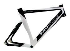 Pro-Lite Trentino Ciclismo en pista Tren Chándal Zeitfahr Marco blanco y negro