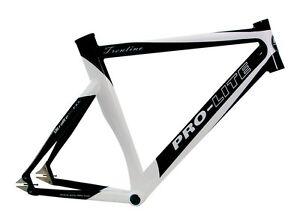 Pro-Lite trentino Track Bike Railway Track Zeitfahr Frame Black-White 56cm