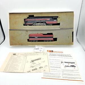 Rivarossi 1579 HO Lehigh Valley 4-6-2 Pacific Steam Locomotive and Tender #2102