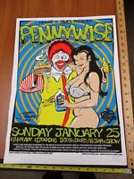 Rock Roll Concert Poster Pennywise Stainboy SN LE#220 House of Blues