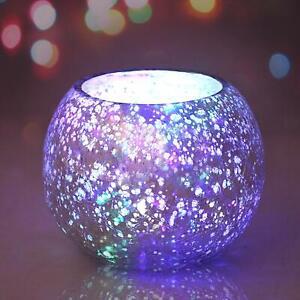 Decorative Vintage Glam Mercury Glass Candle Holder Votive Home Decoration