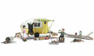 Woodland Scenics AS5542 Ma Et Pa Dans Retraite, Figurines Miniatures H0 (1:87)