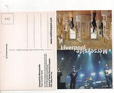 Beatles on Liverpools & Merseyside promo Boomerang postcard
