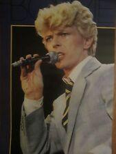 David Bowie Vintage Original Poster 1984
