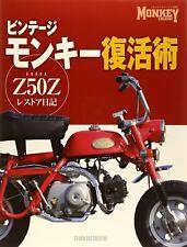Vintage Monkey Z50Z Restore book Honda overhaul engine photo Japan 4883936643