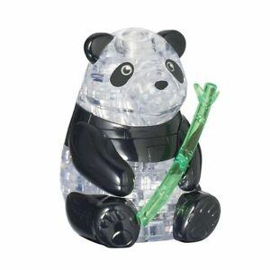 Panda 3D Crystal Puzzle  - Panda , Bepuzzled 30979 new sealed stocking stuffer