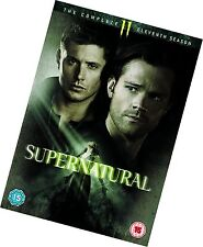 Supernatural - Season Series 11 DVD 2016 VG Q7