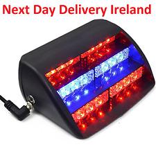 18 LED Warning Light Flashing Dash Strobe Emergency Lamp Amber Car Van Truck