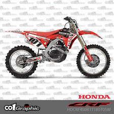 GRAPHICS DECALS STICKERS FULL KIT FOR HONDA CRF250R 2018-2019 CRF450R 2017-2019