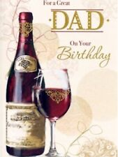 Traditional Dad Birthday Card ~ For A Great Dad ~ Free P&P