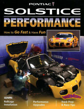 PONTIAC SOLSTICE PERFORMANCE MANUAL BOOK GXP RACING SATURN SKY OPEL GT HOW PARTS