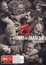Sons Of Anarchy : Season 6 (DVD, 5-Disc Set) NEW