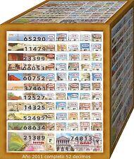 AÑO 2011 COMPLETO LOTERIA NACIONAL DEL JUEVES