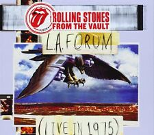 ROLLING STONES CD - FROM THE VAULT: L.A. FORUM LIVE IN 1975 [2CD/1DVD](2014) NEW