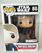 "LOOT CRATE Funko POP Star Wars Han Solo (Snow Gear) 4"" Vinyl Figure (BRAND NEW!)"