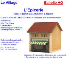Colinter Productions -  maquette Echelle HO - L'Epicerie