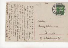 Switzerland 1916 Bahnpost Ambulant Postmark 273b