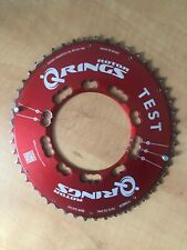 Rotor Aero Q-Rings 110BCD 50t Chainring Red Test Ring 5 Bolt