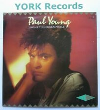 """PAUL YOUNG - Love Of The Common People - Excellent Con 7"""" Single CBS A 3585"""