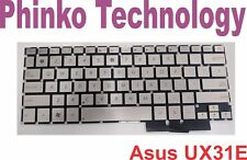 New Keyboard For Asus Zenbook UX31 UX31A UX31E UX31LA Silver