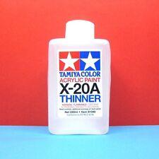 Tamiya #81040 Tamiya Color Acrylic Paint X-20A Acrylic Thinner (250ml)
