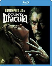 COUNT DRACULA (Christopher Lee) - BLU RAY - Region free  - Sealed