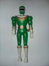 "Vintage Power Rangers Action Figure Green Ranger 8"" 1996 Bandi 90s Toy"