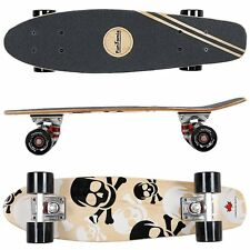 FunTomia® Mini-Board  Ahorn Holz ABEC-11 Retro Skateboard Cruiser Kinder 2060
