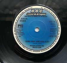 "Richard Denton Martin Cook Theme from Hong Kong Beat 7"" BBC RESL 52"