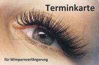 Terminkarten 50 St. für Wimpernverlängerung | Silk Mink Lashes | Seidenwimpern
