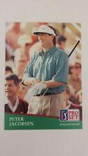 PETER JACOBSEN 1991 PRO SET PGA TOUR GOLF Card # 171 C0123